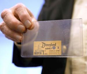 first-disneyland-ticket