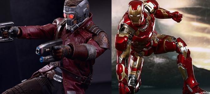 Nuevos Hoy Toys de Iron Man y Star Lord
