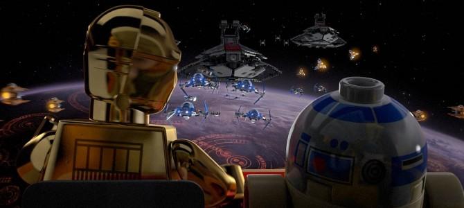 Toda la saga de Star Wars en una miniserie animada de Lego.