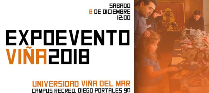 Rogue Five y Centro Cultural HobbyCon presentan: ExpoEvento Viña del Mar 2018.